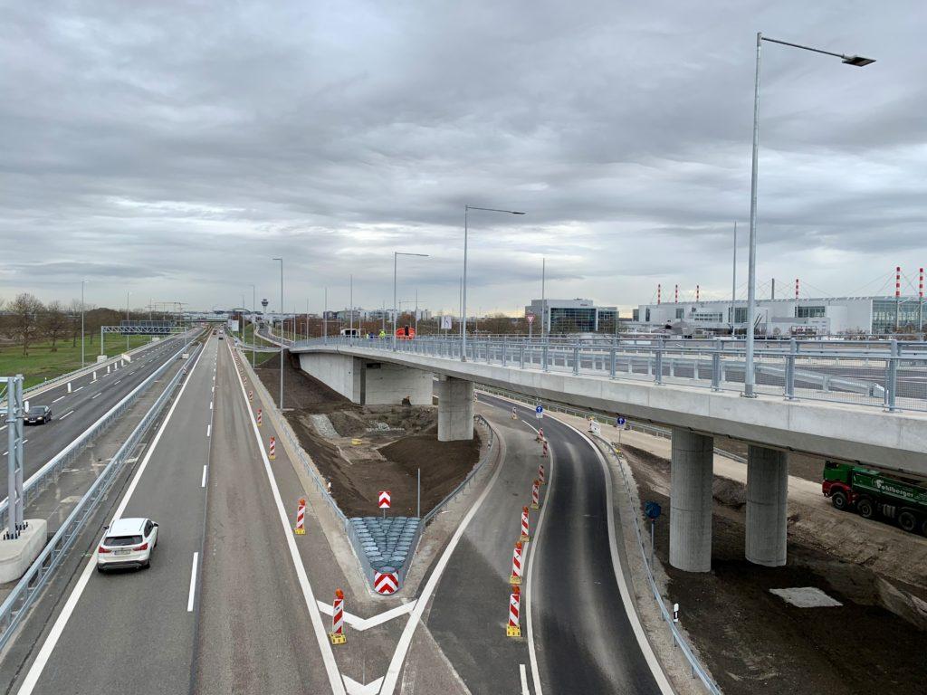 Brückenbauwerk Knoten West 0