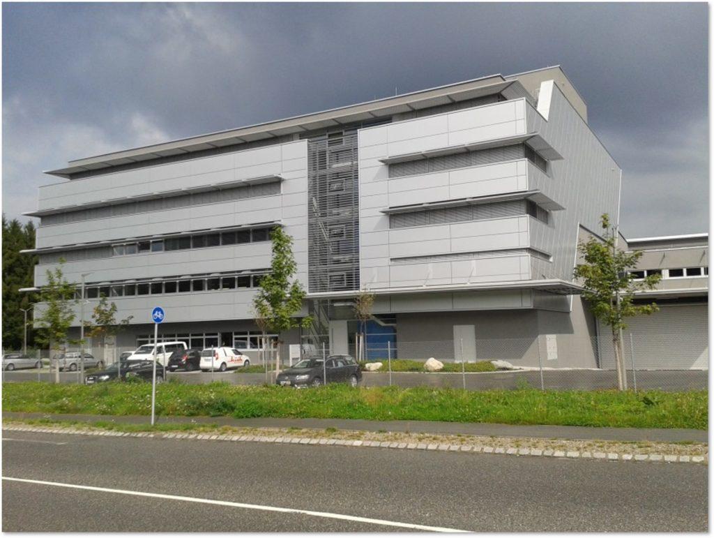 DZP Druckzentrum Umbau zu Büro