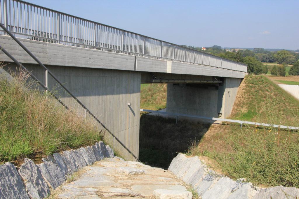 Neubau Straßenüberführung Lappach u. Moosschuster
