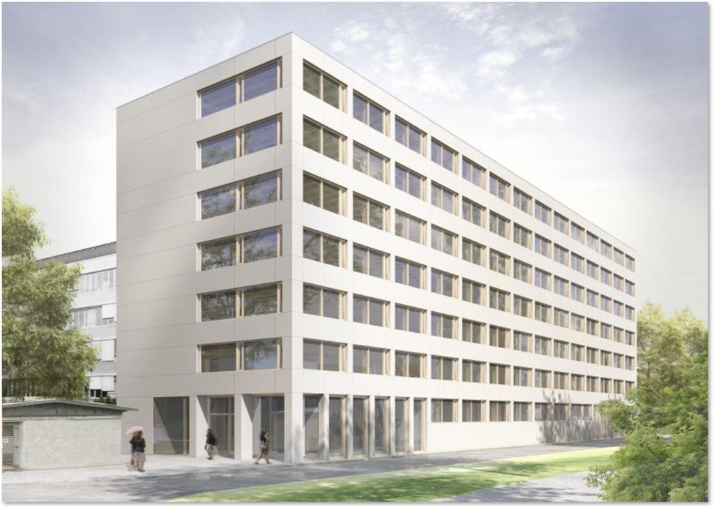 Neubau Büro Holz Hybrid